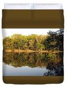 Natures Reflection Guatemala Duvet Cover