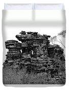 Natures' Ruins Duvet Cover
