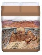 Navajo Bridge In Arizona Duvet Cover