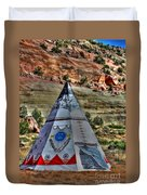Navajo Trading Post Teepee Duvet Cover