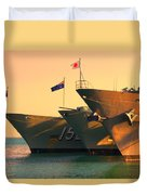 Naval Joint Ops V4 Duvet Cover