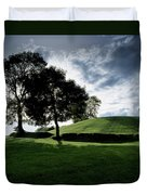 Navan Fort, Co Armagh, Ireland Duvet Cover by The Irish Image Collection