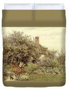 Near Hambledon Duvet Cover by Helen Allingham