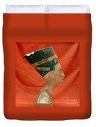 Nefertiti, Ancient Egyptian Queen Duvet Cover