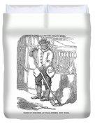 Negro Porter, 19th Century Duvet Cover