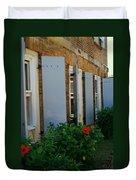 Nelson's Dockyard Street Scene Duvet Cover