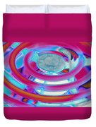 Neon Burner Duvet Cover