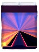 Neon Pinnacle Duvet Cover