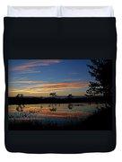 Nerepis Marsh Sunset Duvet Cover
