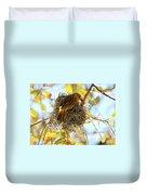 Nesting Instinct Duvet Cover by Carol Groenen
