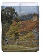 Netley Farm Shere Surrey Duvet Cover