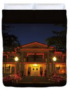 Nevada Governors Haunted Halloween Mansion Duvet Cover