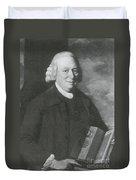 Nevil Maskelyne, English Astronomer Duvet Cover