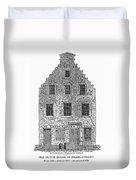 New Amsterdam: House, 1626 Duvet Cover