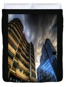 New And Old Living Duvet Cover by Nathan Wright