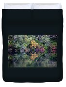 New England Fall Reflection Duvet Cover