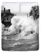 New England Hurricane, 1938 Duvet Cover by Science Source