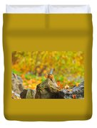 New Hampshire Chipmunk Duvet Cover