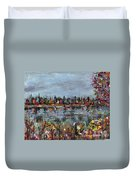 New Hampshire In The Fall Duvet Cover