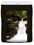 New Hampshire Waterfall Duvet Cover