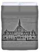 New Jersey Terminal Duvet Cover