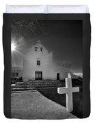 New Mexico Church Duvet Cover