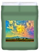 New Mexico Dawn Duvet Cover