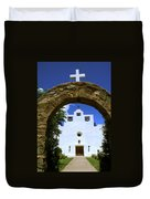 New Mexico Mission Duvet Cover
