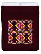 New Mexico Neon Duvet Cover by Glennis Siverson