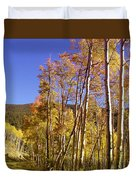 New Mexico Series - Autumn On The Mountain Duvet Cover