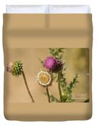 New Mexico Thistle II Duvet Cover