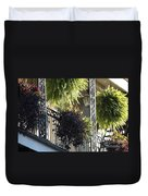 New Orleans Afternoon Light Duvet Cover