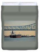 New Orleans Bridge Duvet Cover