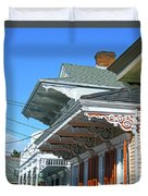 New Orleans Home Uptown Duvet Cover