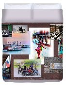 New Orleans The Birthplace Of Jazz Duvet Cover