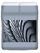 New Racing Tires Duvet Cover
