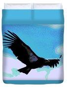 New World Vulture Duvet Cover
