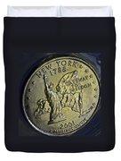 New York 2001 Duvet Cover