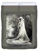 New York: Bride, 1920 Duvet Cover