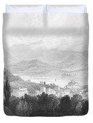 New York: Catskills, 1839 Duvet Cover