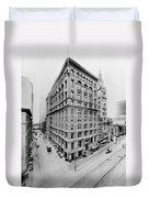 New York City - Western Union Telegraph Building Duvet Cover