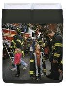 New York City Firefighters Host Duvet Cover