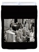 New York City From Above Duvet Cover by Vivienne Gucwa