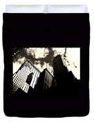 New York City Skyscrapers Duvet Cover