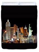 New York New York Duvet Cover