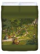 New York Park Duvet Cover
