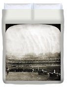 New York: Polo Grounds Duvet Cover