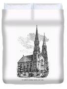 New York: St. Georges Duvet Cover