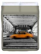 New York Taxi 1 Duvet Cover