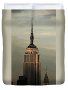 New York Watercolor 1 Duvet Cover